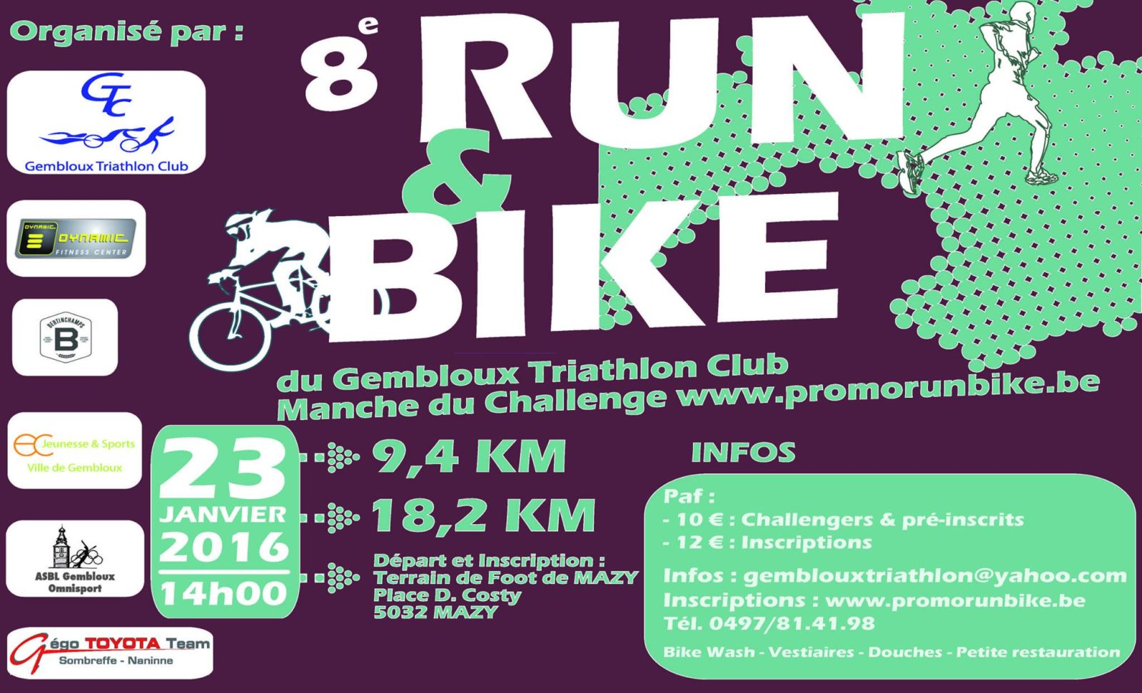 8ème Run & Bike Mazy